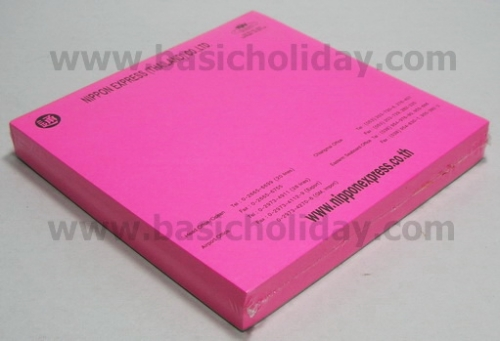 M 1010  กระดาษโน้ตสี