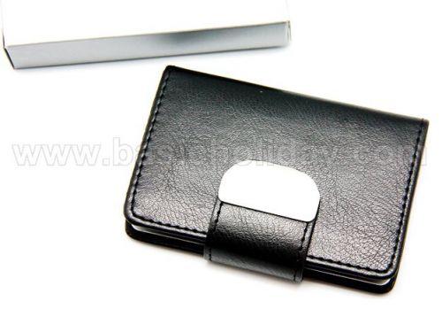 P1513 ตลับนามบัตรหนัง ของพรีเมี่ยม สินค้าพรีเมียม ของที่ระลึก ของชำร่วย ของแจก ของแถม สั่งทำ สั่งผลิต