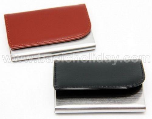 กล่องใส่นามบัตรโลหะสีดำ, สีน้ำตาล ของพรีเมี่ยม สินค้าพรีเมียม ของที่ระลึก ของชำร่วย ของแจก ของแถม สั่งทำ สั่งผลิต