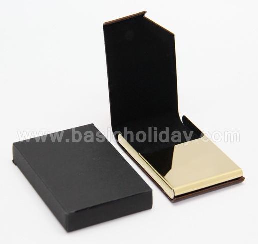 กล่องใส่นามบัตร ตลับใส่นามบัตร ใส่โลโก้ สกรีนโลโก้ ของพรีเมี่ยม ของชำร่วย พรีเมี่ยม ตลับนามบัตรหนัง