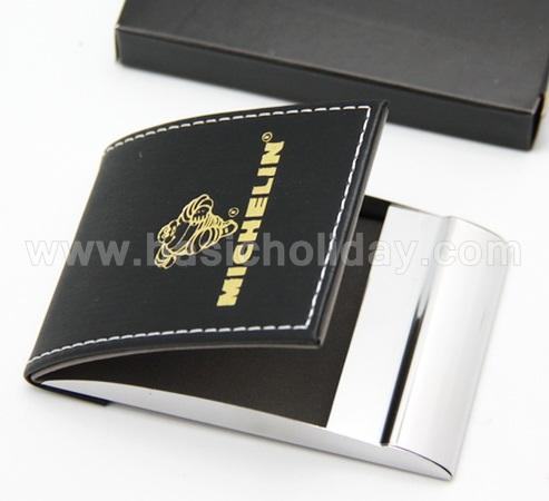 กล่องใส่นามบัตร ตลับใส่นามบัตร ใส่โลโก้ สกรีนโลโก้ ของพรีเมี่ยม ของชำร่วย พรีเมี่ยม