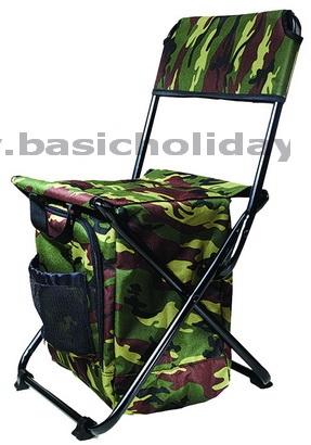 M 1394 เก้าอี้พับ+กระเป๋าใส่ของ