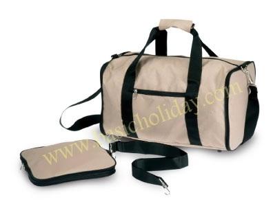 M 1483 กระเป๋าเดินทางผ้าลิปสต๊อป พับเก็บได้