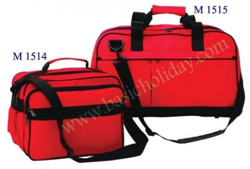 M 1514 กระเป๋าผ้า 600 D ขนาด 17.5 สูง 9 ข้าง 7 นิ้ว