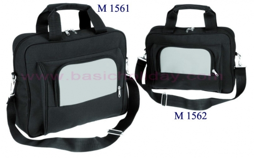 M 1561 กระเป๋าเอกสาร 300 D ขนาด 16 สูง 11.5 ข้าง 3 นิ้ว