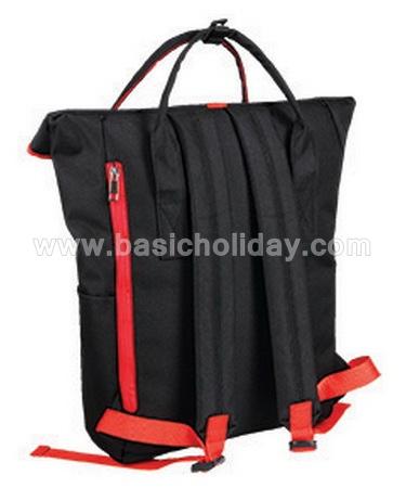 กระเป๋าเป้ กระเป๋าเป้ปักโลโก้ สินค้าพรีเมี่ยม Premium ของแจก ของพรีเมี่ยม กระเป๋าเป้ติด Logo ของขวัญ