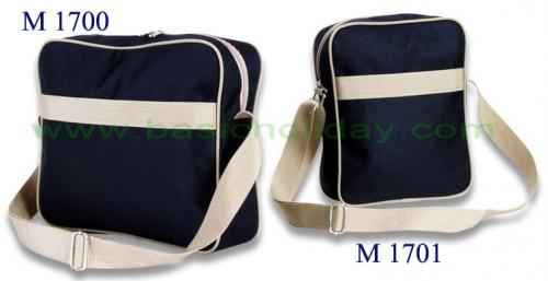 M 1700 กระเป๋าสะพาย 600 D ขนาดกว้าง 12 สูง 10 ข้าง 3 นิ้ว