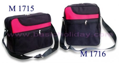 M 1715 กระเป๋า 300 D ขนาดกว้าง 13 สูง 10 ข้าง 4 นิ้ว
