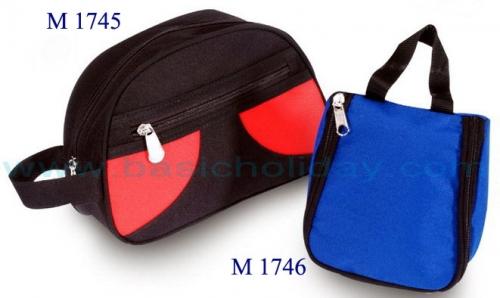 M 1745 กระเป๋าถือ 600 D ขนาดกว้าง 9.5 สูง 6 ข้าง 4 นิ้ว