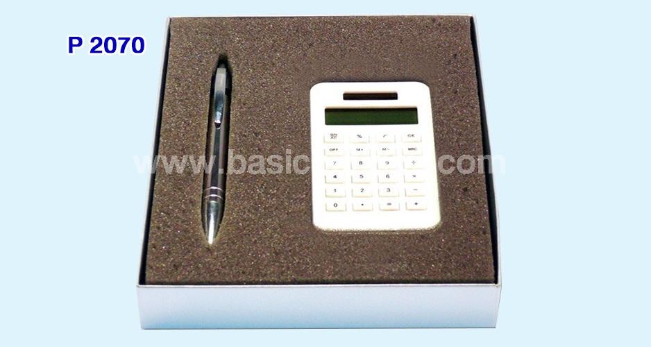 ชุดปากกาและเครื่องคิดเลข