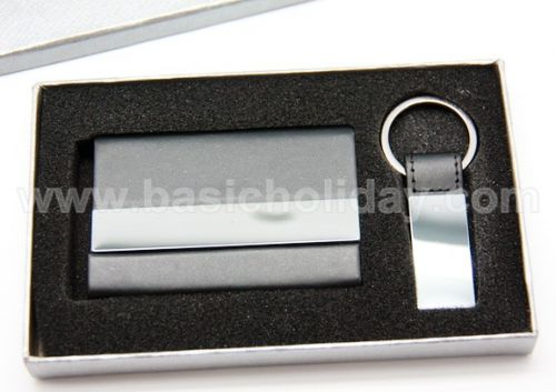 ชุดกิ๊ฟท์เซตกล่องนามบัตร+พวงกุญแจ ของพรีเมี่ยม สินค้าพรีเมียม ของที่ระลึก ของชำร่วย ของแจก ของแถม สั่งทำ สั่งผลิต