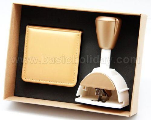 ชุดที่เย็บกระดาษ+กล่องใส่กระดาษโน้ต ของพรีเมี่ยม สินค้าพรีเมียม ของที่ระลึก ของชำร่วย ของแจก ของแถม สั่งทำ สั่งผลิต
