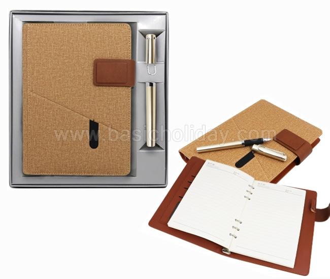 ทำของแจกลูกค้า สมุดโน๊ต สมุดโน๊ตสำเร็จรูป สมุดโน๊ตพร้อมสกรีน สมุดโน๊ตพร้อมปากกา Gift set ของขวัญปีใหม่