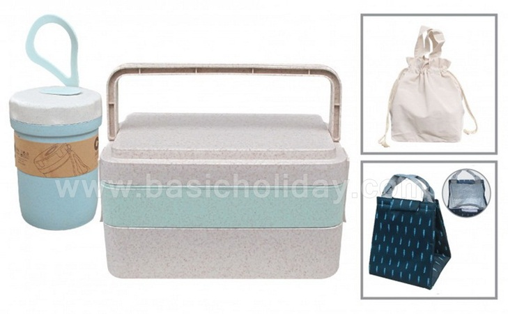 กล่อง GIFT SET กล่องใส่อาหาร กล่องข้าว กล่องใส่ข้าวจัดชุดของขวัญ ทำของแจก ของขวัญ ของที่ระลึก