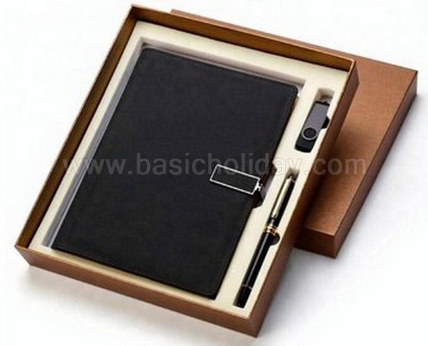 ชุดกิฟต์เซ็ทสมุดโน้ต ชุดเซ็ทของขวัญ Box set ชุดเซ็ทของขวัญ พร้อมปากกา ของแจกลูกค้า แจกพนักงาน