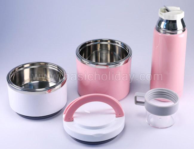 รับผลิตของขวัญ ปิ่นโตใส่อาหาร2ชั้น ผลิตสินค้าพรีเมียม ของชำร่วย ของที่ระลึก ชุดกิ๊ฟเซ็ทกระบอกน้ำ สกรีนโลโก้