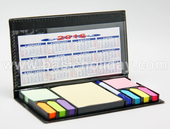 P 2596 สมุดโน้ตแบบมีโพสอิท 10 ช่อง   ของพรีเมี่ยม-ของที่ระลึก-ของชำร่วย-สินค้าพรีเมี่ยม-premium-รับผลิตและนำเข้า