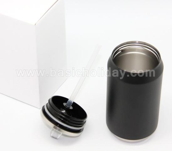 กระบอกน้ำ กระติกน้ำสแตนเลส กระป๋องน้ำสแตนเลส can แก้วน้ำสแตนเลส สินค้าแจก ของรางวัลสกรีนชื่อ