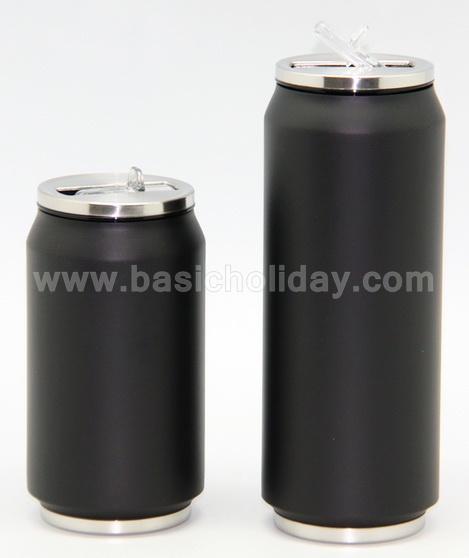 กระบอกน้ำ กระติกน้ำสแตนเลส กระป๋องน้ำสแตนเลส can แก้วน้ำสแตนเลส ฟรีสกรีน ของแจก ของสมนาคุณ