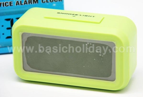 นาฬิกาดิจิตอล Digital Clock พรีเมี่ยม นาฬิกาดิจิตอลตั้งโต๊ะ นาฬิกาดิจิตอล สินค้านำเข้า ของฝาก ของแจก