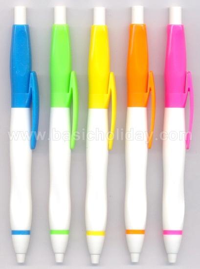 ปากกาพลาสติก พรีเมี่ยม ปากกาสกรีนโลโก้ ปากกาแจก ปากกาที่ระลึก ปากกาพรีเมี่ยม