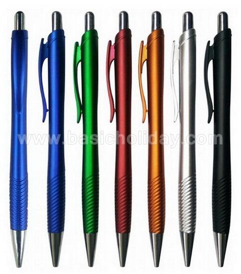 ปากกา พลาสติก  ปากกาพลาสติก ปากกาสกรีนโลโก้ ปากกาพลาสติก พรีเมี่ยม ของแจก ของที่ระลึก ของขวัญ