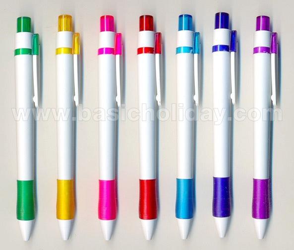 ปากกาพลาสติก ปากกาสกรีนโลโก้ ปากกาพลาสติก พรีเมี่ยม ปากกาพรีเมี่ยม ปากกาแจก ปากกาของขวัญ ปากการาคาถูก