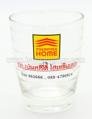 แก้วน้ำใส แก้วพรีเมี่ยม แก้วมัค พรีเมี่ยม แก้วน้ำ สกรีนโลโก้ ชื่อ บริษัทฯ ของพรีเมี่ยม ของที่ระลึก ของขวัญ ของแจกลูกค้า