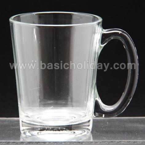 แก้วน้ำใสมีหูจับ แก้วมัค พรีเมี่ยม แก้วน้ำ สกรีนโลโก้ เพื่อ ส่งเสริมการขาย แก้วมัคพรีเมี่ยม ของพรีเมี่ยม สินค้าพรีเมี่ยม ของที่ระลึก ของชำร่วย ของแจก ของแถม