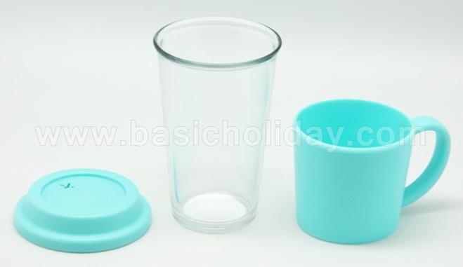 แก้วน้ำใสมีหูจับ แก้วมัค พรีเมี่ยม แก้วน้ำ สกรีนโลโก้ ของแจก สินค้าที่ระลึก ของสมนาคุณ แจกลูกค้า