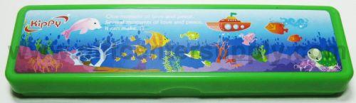 กล่องดินสอพลาสติค Kippy คละสี ของชำร่วย สินค้าที่ระลึก ของที่ระลึก ของขวัญ  ของแต่งงาน ของฝาก  กิ๊ฟช็อป ของตกแต่งบ้าน ของแถม ในราคาขายส่ง