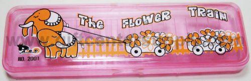 กล่องใส่ดินสอพลาสติคใส M 2001 คละสี ของชำร่วย สินค้าที่ระลึก ของที่ระลึก ของขวัญ  ของแต่งงาน ของฝาก  กิ๊ฟช็อป ของตกแต่งบ้าน ของแถม ในราคาขายส่ง