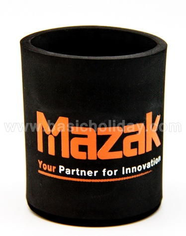 M 4385 ถ้วยยางหุ้มขวดเบียร์-MAZAKถ้วยยางเก็บความเย็น แก้วยางเก็บความเย็น ถ้วยโฟมสวมขวดเบียร์เก็บความเย็น