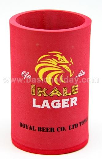 M 4386 ถ้วยยางหุ้มกระป๋องเก็บความเย็น-IKALE ถ้วยยางเก็บความเย็น แก้วยางเก็บความเย็น ถ้วยโฟมสวมขวดเบียร์เก็บความเย็น