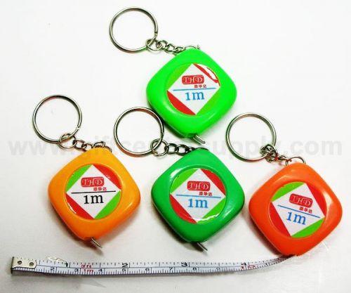 2876 พวงกุญแจตลับเมตรเล็ก  คละสี ของชำร่วย สินค้าที่ระลึก ของที่ระลึก ของขวัญ  ของแต่งงาน ของฝาก  กิ๊ฟช็อป ของตกแต่งบ้าน ของแถม ในราคาขายส่ง