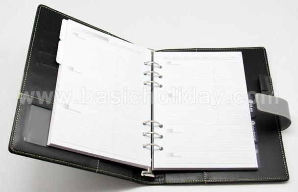สมุดโน๊ตปกหนัง สมุดบันทึก ออแกไนเซอร์ สมุดโน๊ต ไดอารี่ พร้อมปากกา ของที่ระลึก ของขวัญปีใหม่