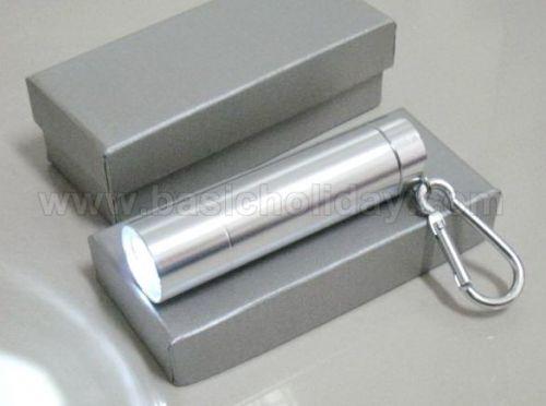 P 2191 ไฟฉายสีเงิน ของพรีเมี่ยม สินค้าพรีเมียม ของที่ระลึก ของชำร่วย ของแจก ของแถม สั่งทำ สั่งผลิต