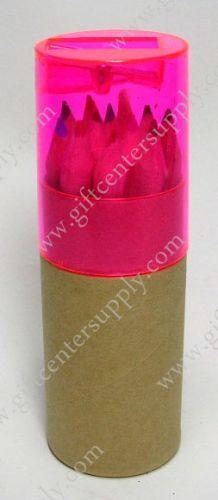 1787-2 ชุดสีไม้ในกล่องพร้อมกบเหลา-แบบสั้น
