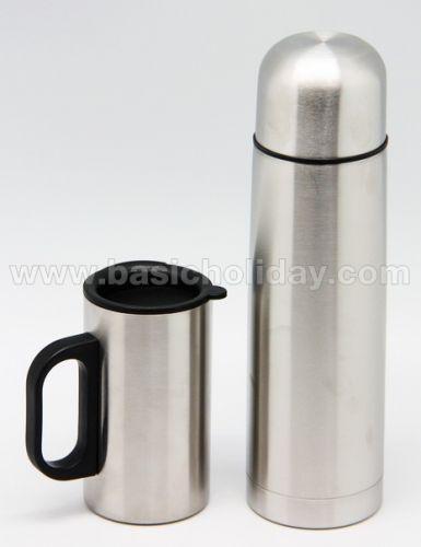 P 2310 ชุด Giftset กระติก+ถ้วย ของขวัญ premium ของชำร่วย สั่งทำ ของแจก พรีเมี่ยม