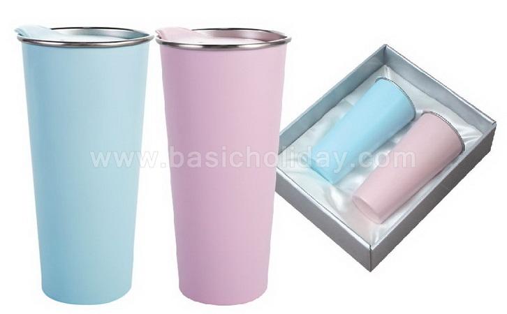 ชุดกระติกน้ำ (Gift Set) ชุดกระบอกน้ำ ชุดแก้วน้ำ ชุดแก้วน้ำ (สแตนเลส-สูญญากาศ) สกรีนโลโก้ฟรี