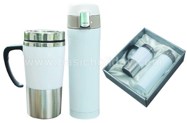 Giftset กระติกน้ำ แก้วและกระติก สินค้าที่ระลึก สินค้าส่งเสริมการขาย พรีเมียม ของชำร่วย สินค้าพรีเมี่ยม แก้วน้ำสูญญากาศ