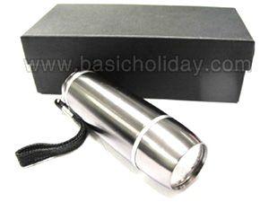 P 1931 ไฟฉายโลหะ 9 Led 3 AAA ของพรีเมี่ยม สินค้าพรีเมียม ของที่ระลึก ของชำร่วย ของแจก ของแถม สั่งทำ สั่งผลิต