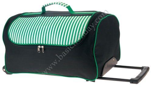 M 2267 กระเป๋าล้อลากทรงนอน 600D สลับผ้าฟองน้ำ