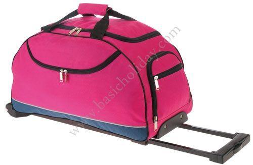 M 2270 กระเป๋าล้อลากทรงนอน 600D