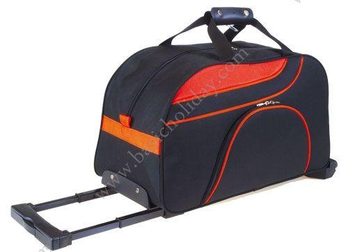 M 2271 กระเป๋าล้อลากทรงนอน 600D