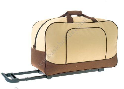 M 2275 กระเป๋าล้อลากทรงนอน 600D