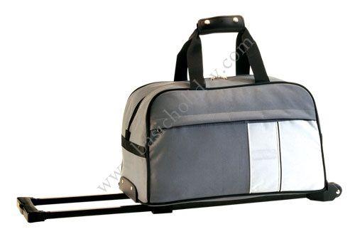 M 2277 กระเป๋าล้อลากทรงนอน 600D
