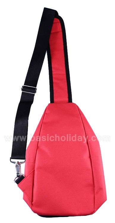 สั่งทำกระเป๋าเป้สะพาย สำหรับแจก ราคาถูก สกรีนโลโก้ สั่งทำกระเป๋าที่ระลึก กระเป๋าเป้สะพายข้าง สกรีนฟรี