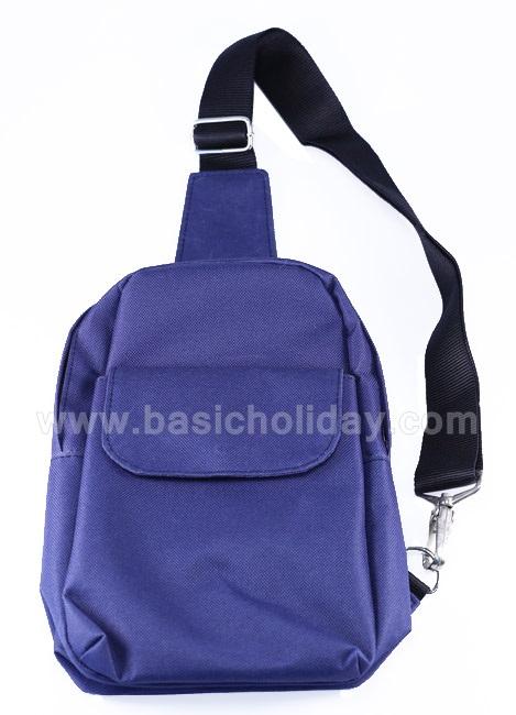 กระเป๋าสะพายข้าง กระเป๋าเป้ กระเป๋าผู้ชาย กระเป๋าคาดอก คาดเอว สะพายข้าง มีซิป สกรีนโลโก้ ส่งฟรี