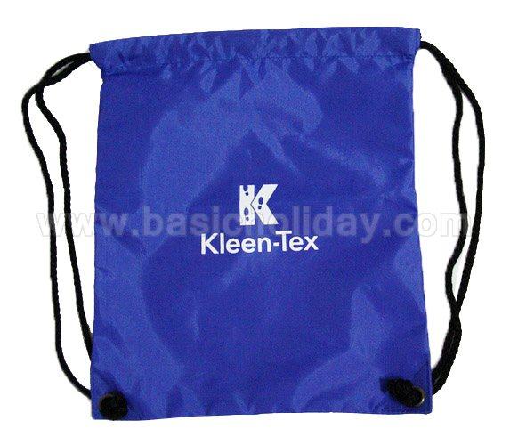 เป้สะพายแบบหูรูด กระเป๋ามีเชือก ของ premium แจกลูกค้า กระเป๋าเป้หูรูด ถุงผ้าหูรูด ของแจก ของขวัญ ของที่ระลึก ของพรีเมี่ยม